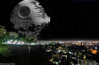 Ecco Star Wars a Bergamo! Photoshop fa miracoli portando le Guerre Stellari a Bergamo