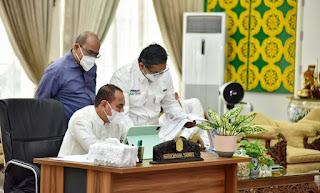 Edy Rahmayadi Minta Kabupaten/Kota di Sumut Maksimalkan BLT Dana Desa