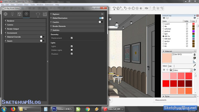 Tutorial Setting Switches  Vray 3 Sketchup