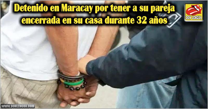 Detenido en Maracay por tener a su pareja encerrada en su casa durante 32 años