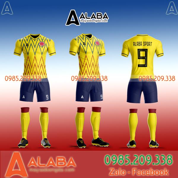 Áo Colombia sân nhà mới