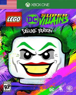 LEGO DC Super-Villains Deluxe Edition XBOX LIVE Key UNITED STATES