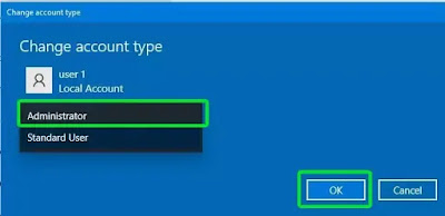 how to create new user in windows 10