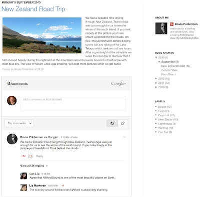 Automatically share your blog posts to Google+