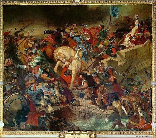 Na vitória de Taillebourg, São Luís se afirmou como rei inconteste da França