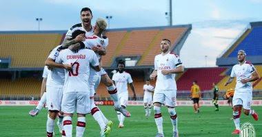 ملخص واهداف مباراة ميلان وليتشي (4-1) الدوري الايطالي