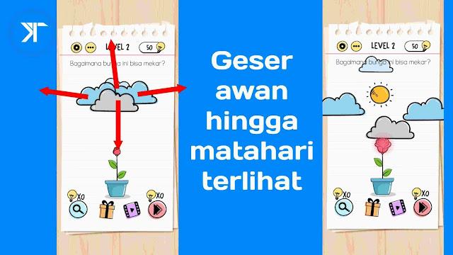 Kunci jawaban brain test level 2