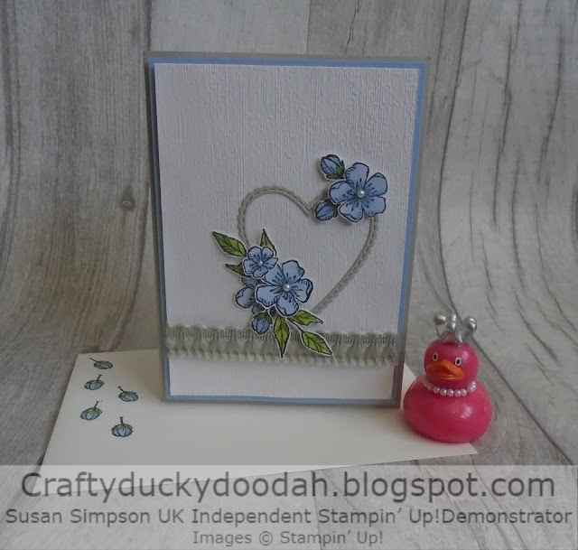 Craftyduckydoodah, #JOSTTT009, Meant to Be, Free As A Bird, Susan Simpson UK Independent Stampin' Up! Demonstrator, Supplies available 24/7 from my online store,