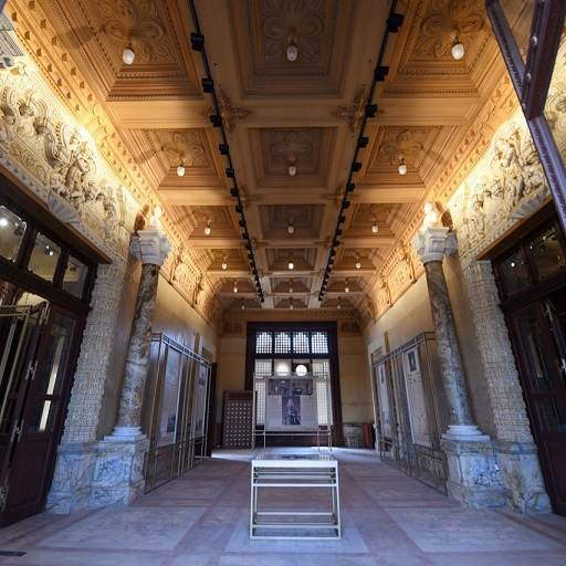 قصر البارون من الداخل