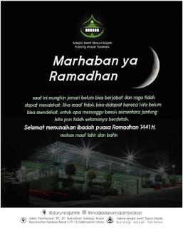 Marhaban Yaa Ramadhan by Masjid Darun Najah Karang Anyar Tarakan - Kajian Islam Tarakan