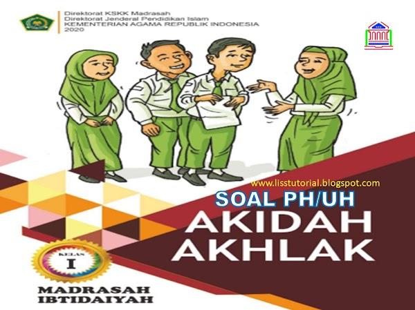 Contoh Soal PH Akidah Akhlak KD 1.9-4.9 Kelas 1 SD/MI Semester 2 Sesuai KMA 183