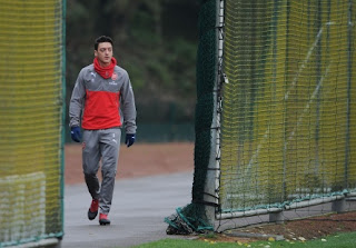 [In Pictures] Arsenal's Final Preparation For Trip To Merseyside