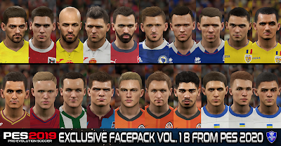 PES 2019 Exclusive Facepack Vol. 18 By Sofyan Andri