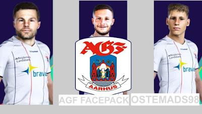 PES 2021 Facepack AGF Aarhus by Ostemads98