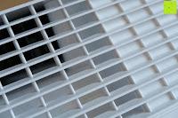 Luftauslass: Beurer LR 300 Luftreiniger mit HEPA Filter für 99,5% Filterleistung, ideal bei Heuschnupfen und zur Allergievorbeugung