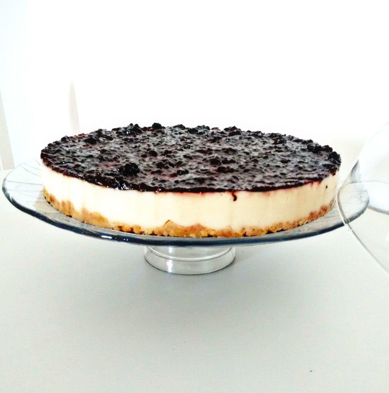 Receitas Da Felicidade: Cheese Cake Sem Forno