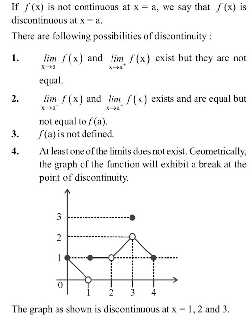 12 class Maths Notes Chapter 5 Continuity and Differentiability free PDF| Quick revision Continuity and Differentiability Notes class 12 maths