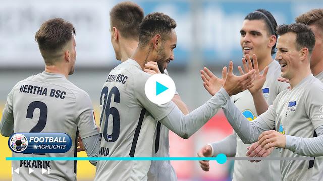 Paderborn vs Hertha BSC – Highlights