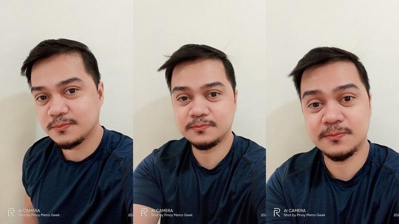 realme narzo 30A sample selfie