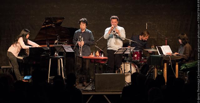 Satoko Fujii KAZE Quartet + Ikue Mori