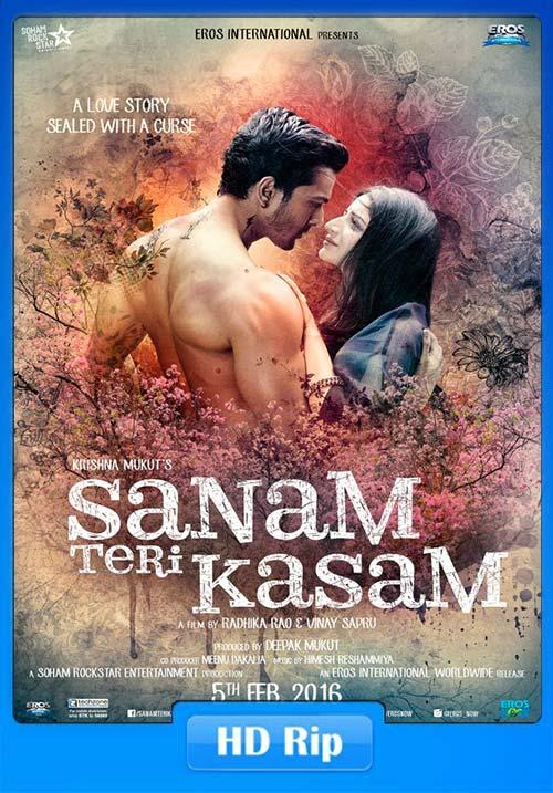 Sanam Teri Kasam 2016 Hindi WEB HDRip 720p | 400MB 480p | 200MB HEVC Poster