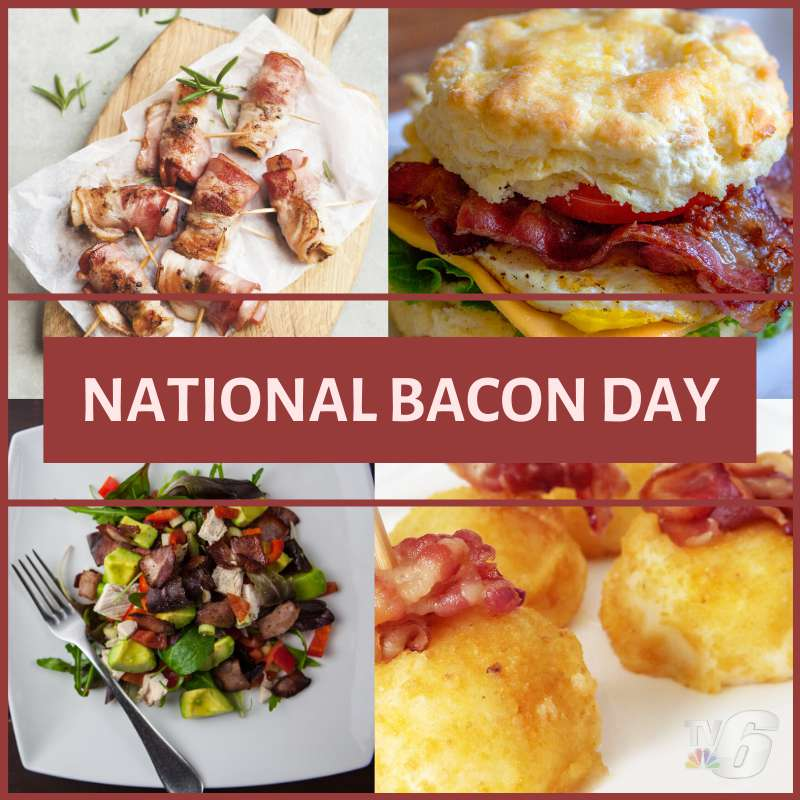 National Bacon Day Wishes