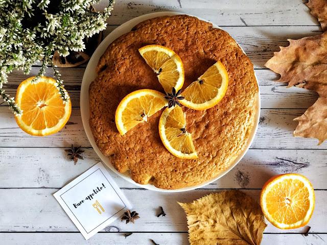 Pan d'arancio, czyli ciasto pomarańczowe prosto z Sycylii