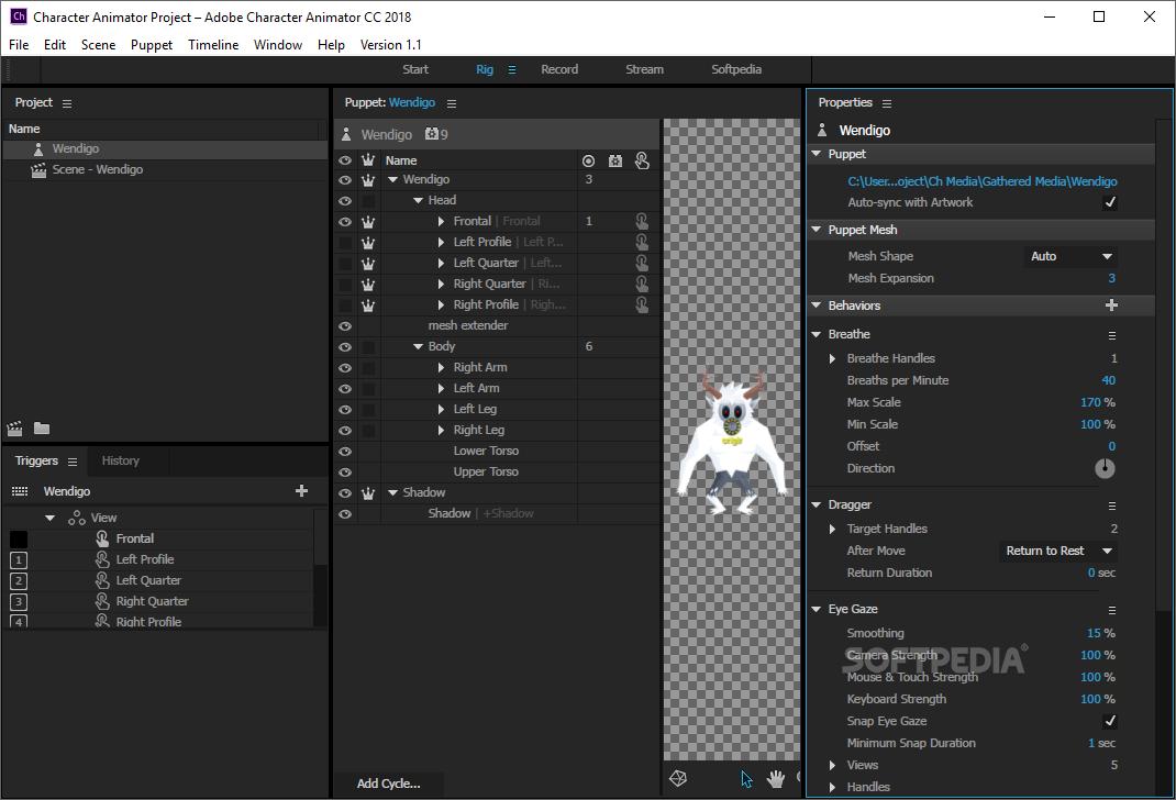 Adobe Character Animator 2020 v3.3.0.109