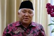 Inilah alasan Din Syamsuddin Tidak Hadir Dalam Musyawarah Nasional MUI