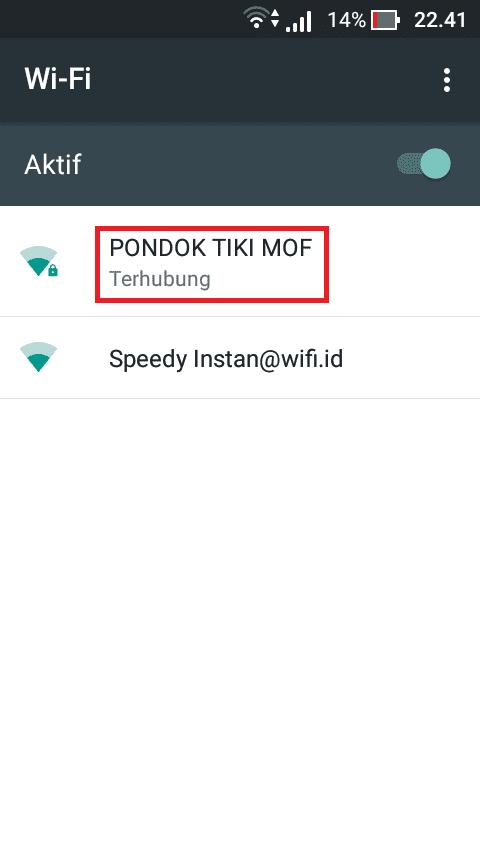 Tutorial Hack Password WiFi