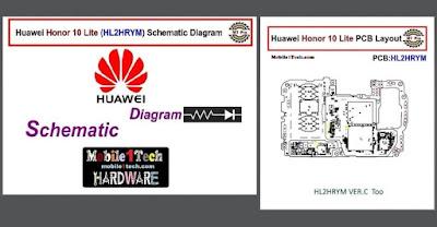 مجاناً وحصرياً المخطط الأول في العالم لهاتف هواوي هونور10 لايت Huawei Honor 10 Lite