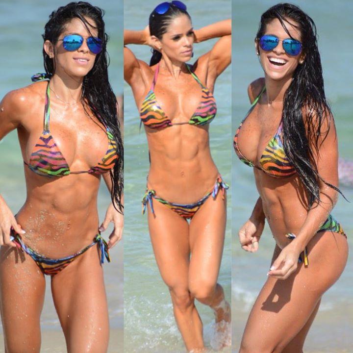 Skin around bikini area
