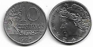 10 centavos, 1975