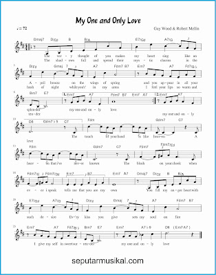 my one and only love lagu jazz standar