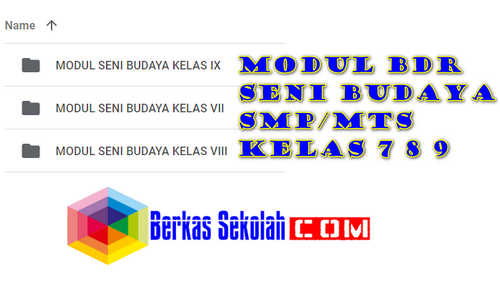 Modul BDR Seni Budaya Kelas 7 8 9 SMP/MTs Semester 1
