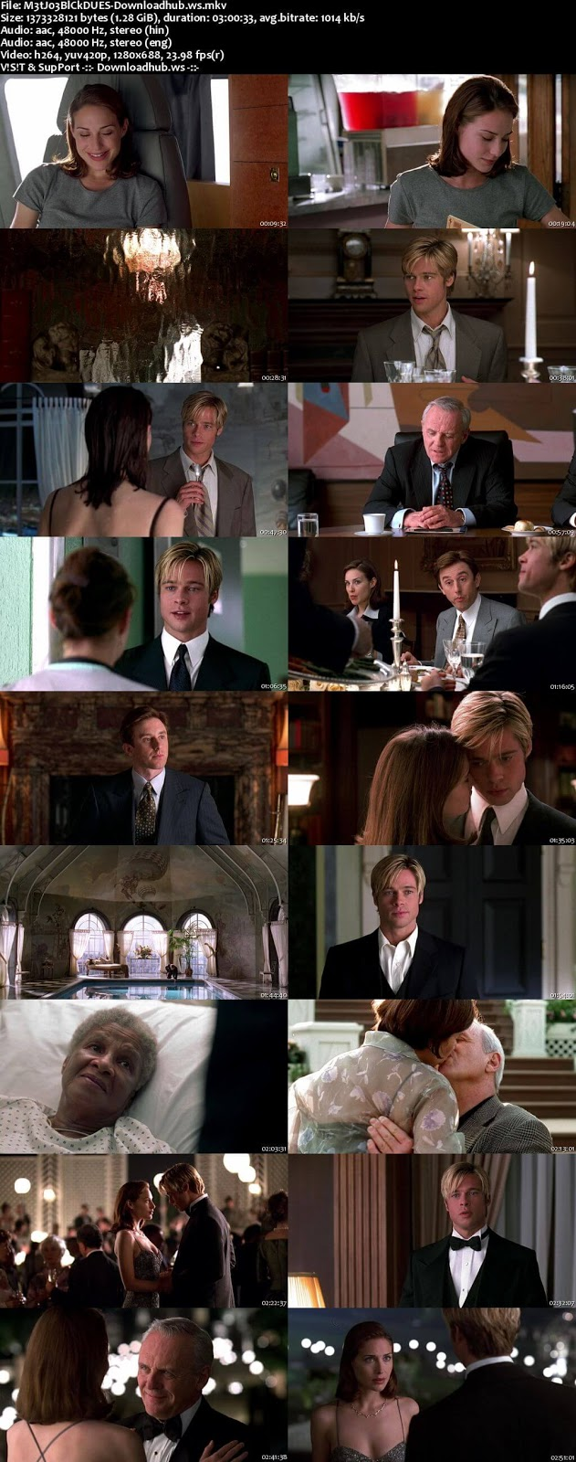 Meet Joe Black 1998 Dual Audio [Hindi – English] 720p BluRay