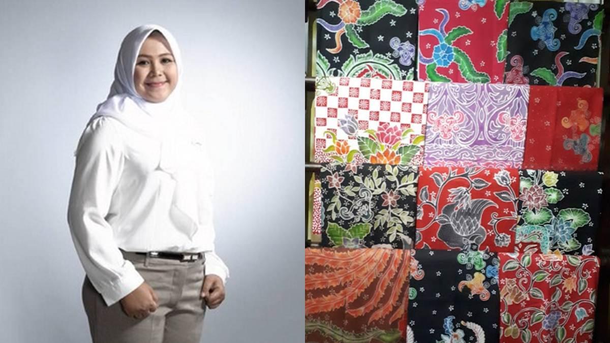 Anjani dan batik-batik Bantengan karyanya