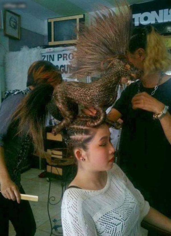 cortes de cabelo artísticos