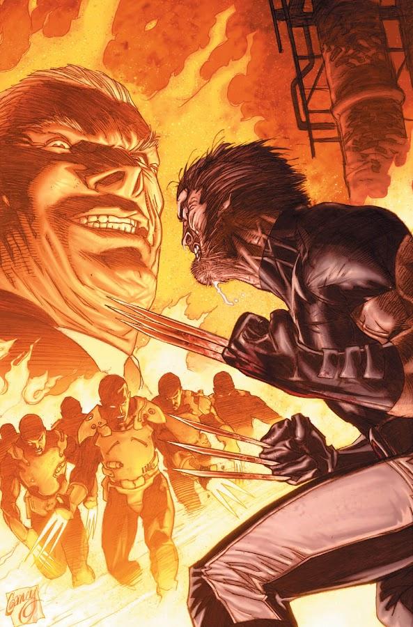wolverine vs adamantium men weapon x marvel comics jason aaron ron garney