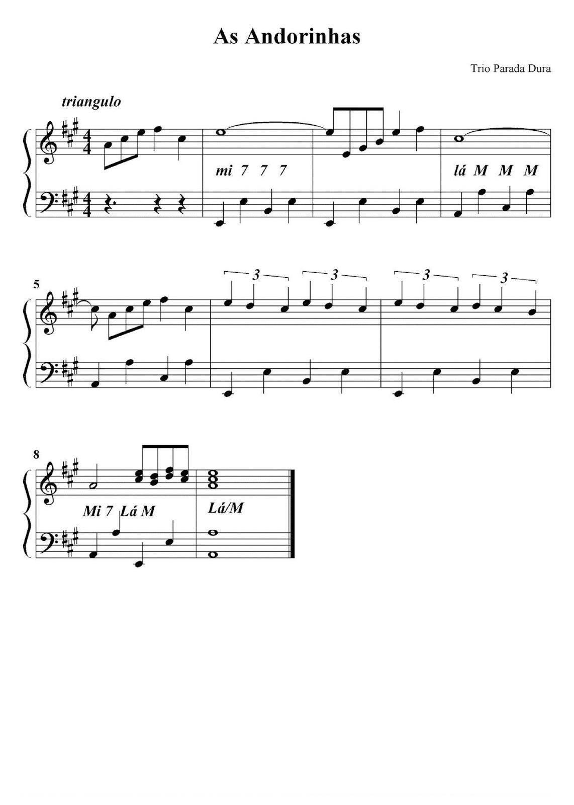 musica as andorinhas voltaram