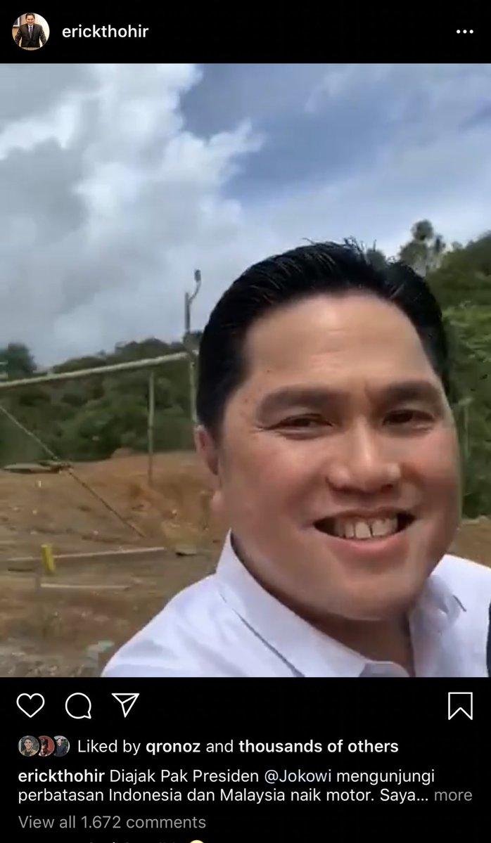 Postingan Menteri Erick Thohir yang Seharusnya Segera Dihapus