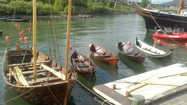 Embarcaciones en la isla Bygdøy
