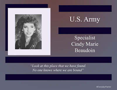 A short biopic on US Army Specialist Cindy Marie Beaudoin - Gulf War - Desert Storm/Desert Shield - Died in Service.