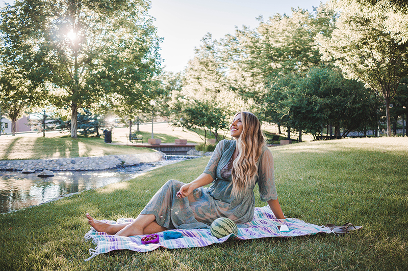 a summer picnic in the park, salt lake city parks, downtown salt lake city