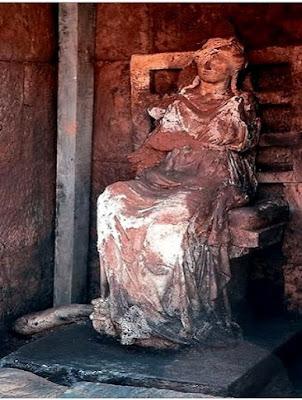 Άγαλμα της θεάς Κυβέλης στη γη του Πόντου