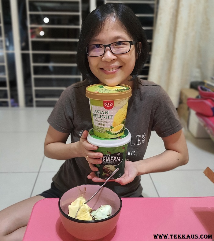 Chocolate Mint Ice Cream Durian Ice Cream