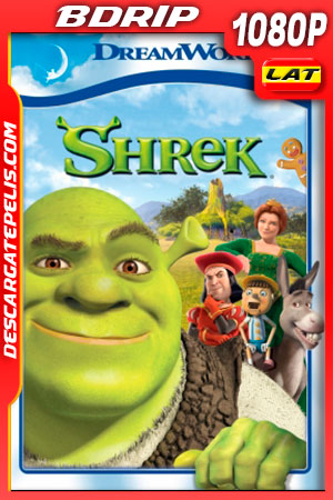 Shrek (2001) FULL HD 1080p BDRip Latino – Ingles