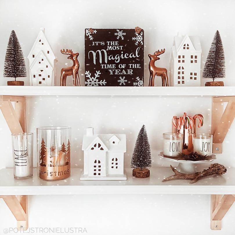 zimowe i świąteczne dekoracje