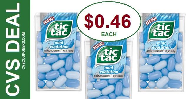 Tic Tac Mints CVS Deal