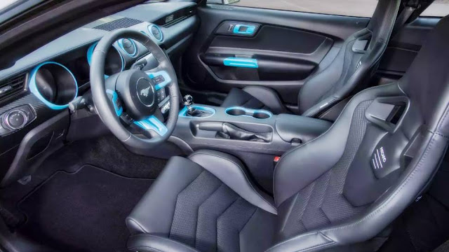 2020 Ford Mustang Lithium Interior